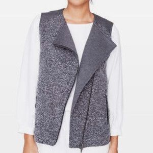 Club Monaco Grey Wool Avani Vest